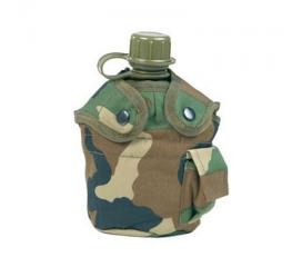 Gourde camo us complet + housse